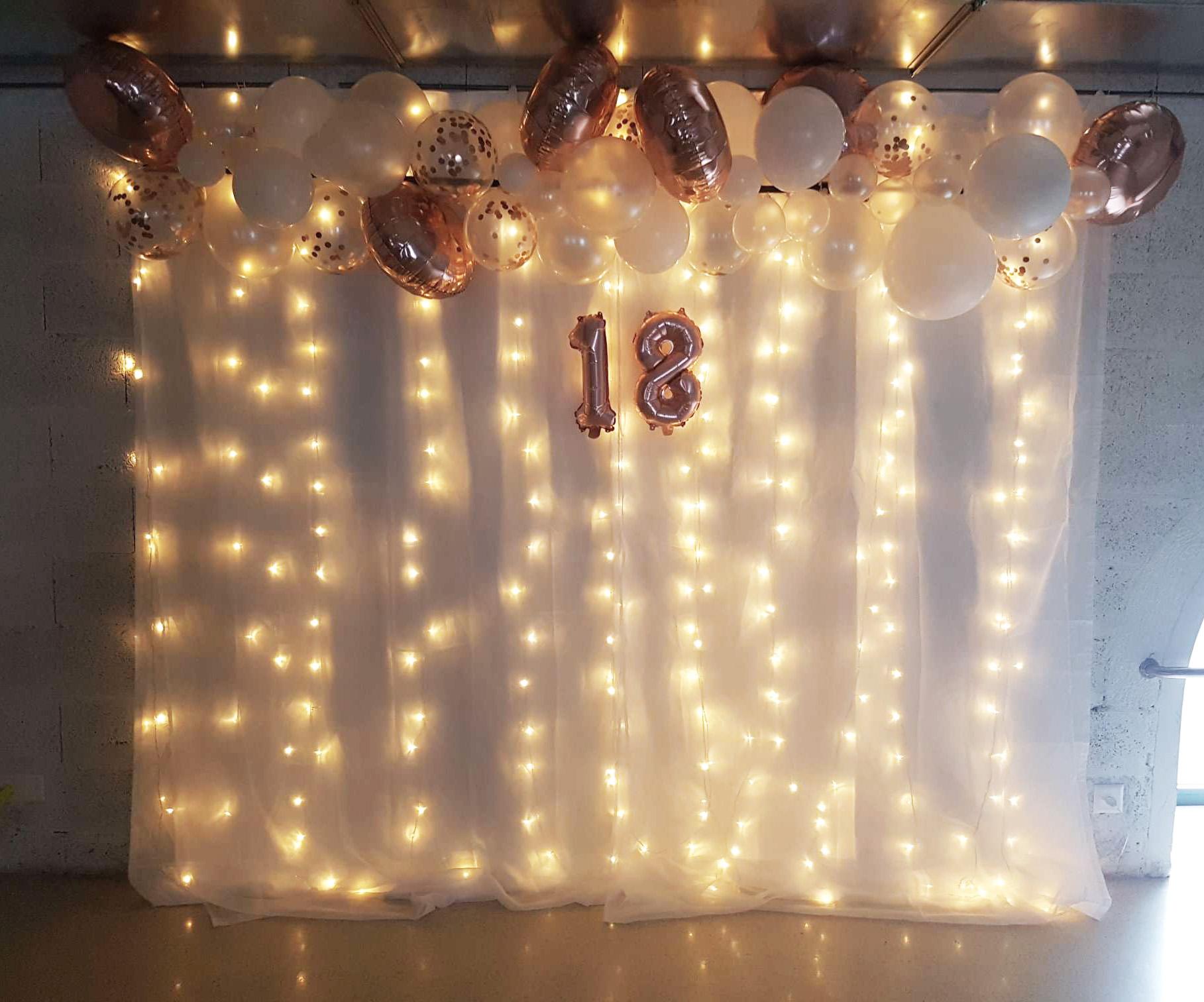 Decoration D Un Anniversaire 18 Ans Creativy